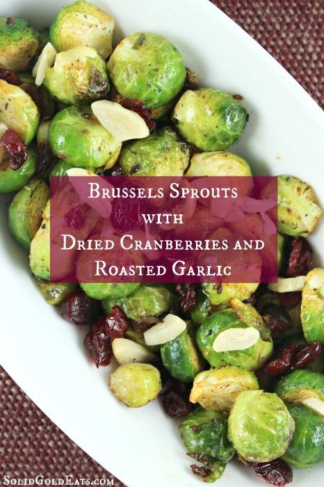 Chopped Brussels Sprouts With Dried Cranberries, Pecans ...