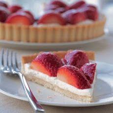Strawberry–Cream Cheese Tart | FOOD/DRINK! | Pinterest