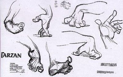 Dibujar manos Disney 11