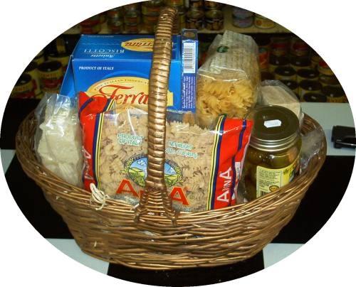 Italian Gift Basket Gift Baskets Pinterest