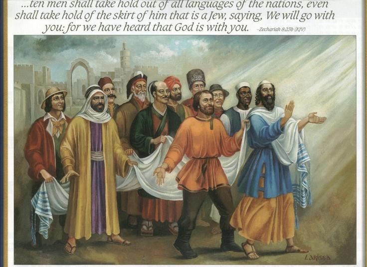 Image result for Zechariah 8:23