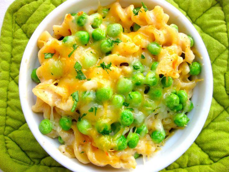 Macaroni And Cheese Peas