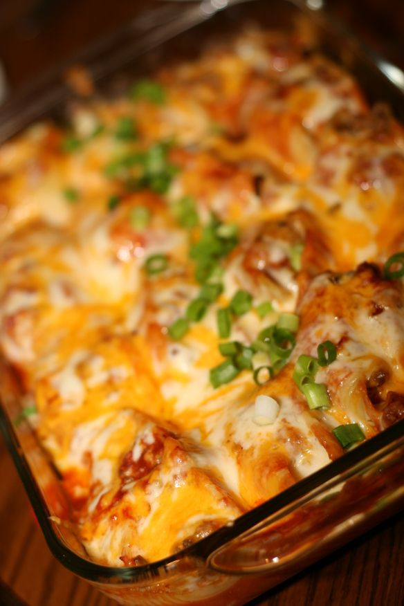 Taco Stuffed Shells | Mmmmmm..... Food | Pinterest