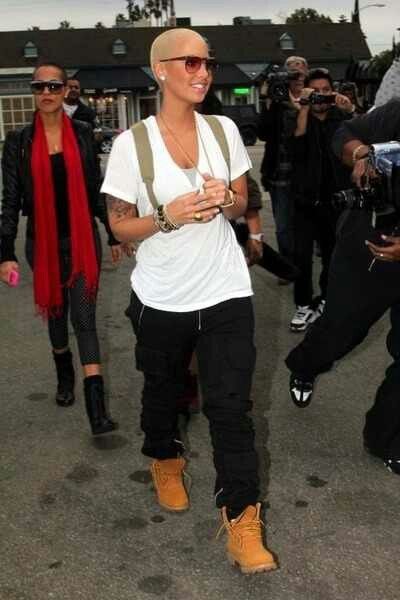 Amber Rose. She gets the tomboy thing. | Inspiration ...