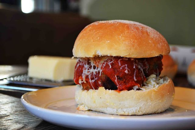 "Meatball"" Sliders   General Recipes   Pinterest"
