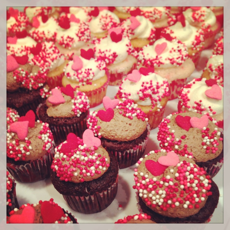 valentine day mini cookies