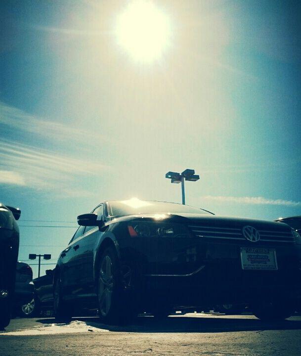 ... Winter sun shining on VWs at LRVW. | Larry Roesch Volkswagen | P