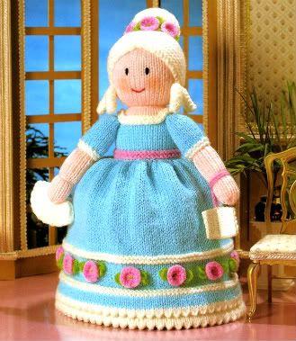 Knitting Pattern For Upside Down Cinderella Doll : Knitting Pattern ~ CINDERELLA TOPSY-TURVY DOLL ~ Jean Greenhowe
