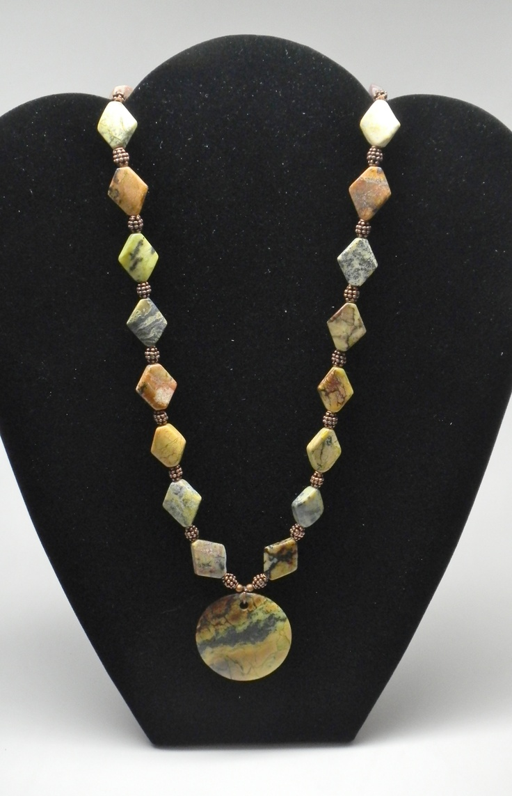 African Turquoise Necklace Jewelry Pinterest