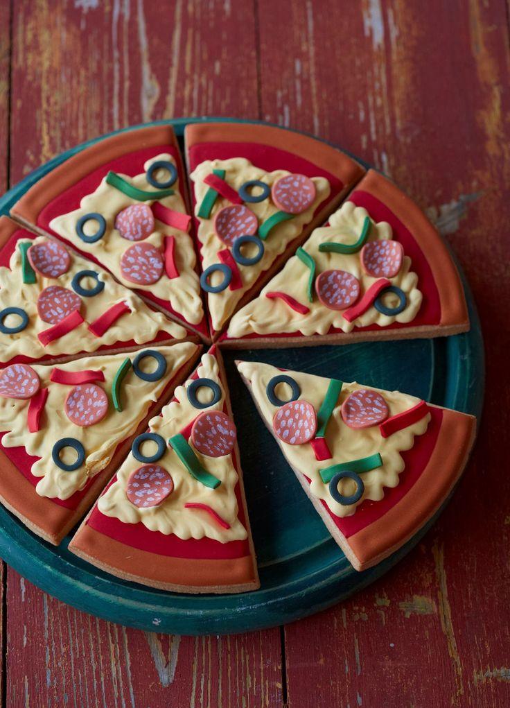 Pizza Cake Cake Ideas Pinterest