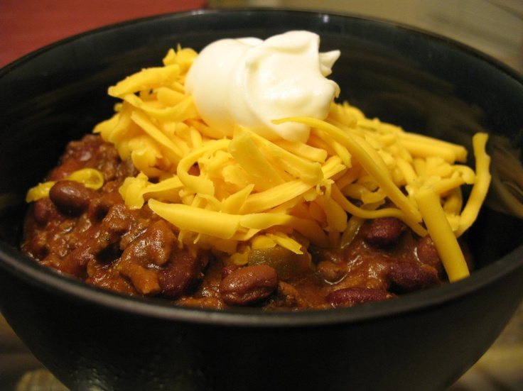 Crock Pot Chili by Crepes of Wrath | Books Worth Reading | Pinterest