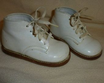 1970s sole white baby walking shoes memories my