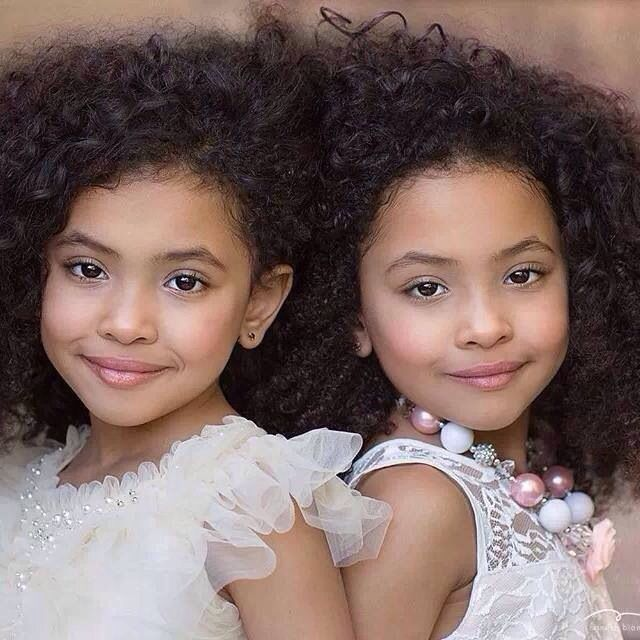Biracial Twin Girls With Hair Hairstylegalleries Com