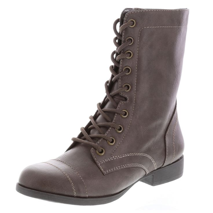 Women's Tanner Lace-Up Boot, Dark Grey