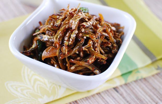 Stir-fried anchovies | See? Food! | Pinterest