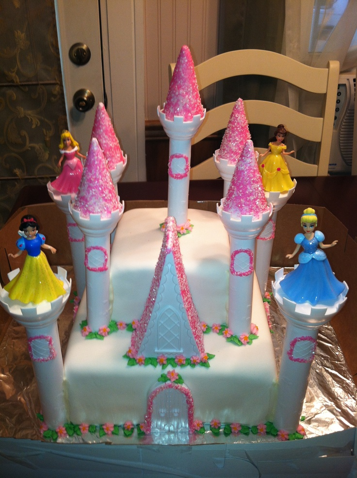 Pictures Of A Castle Cake