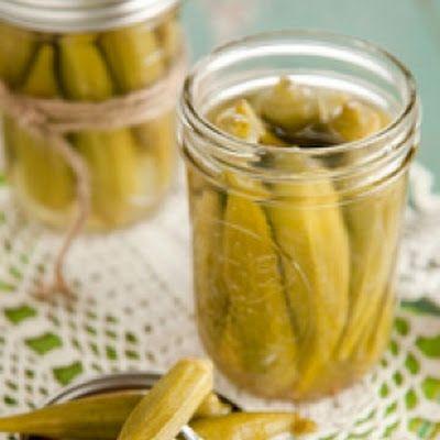 Pickled Okra | Sides | Pinterest