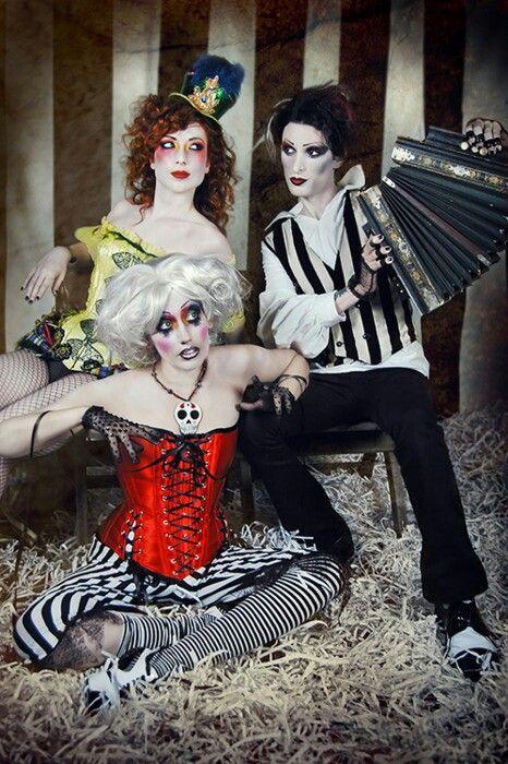 Circus freaks | halloween | Pinterest