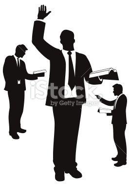preacher silhouette   Image Management Center   Logo Style Guide   Pi