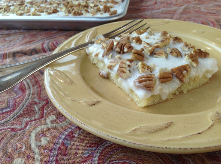 Mom's Texas Delight - a beautiful dessert to bring to gatherings, It ...