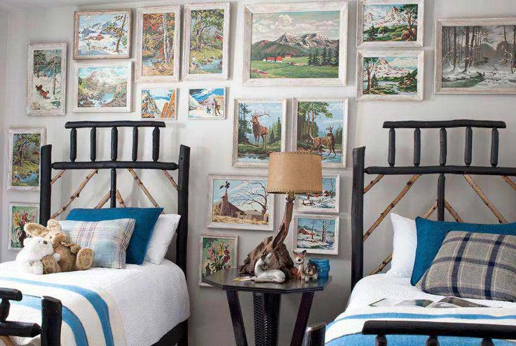 Paint by number silver lake pinterest for Boys country bedroom ideas