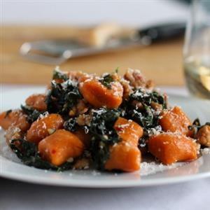 Whole Wheat Sweet Potato Gnocchi | Diet LOw carb recipies | Pinterest