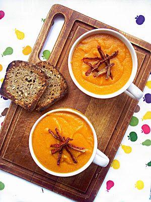 Pumpkin lentil cream soup | I adore cinnamon blog | Pinterest