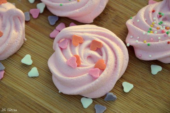 Meringue swirls | recepten | Pinterest