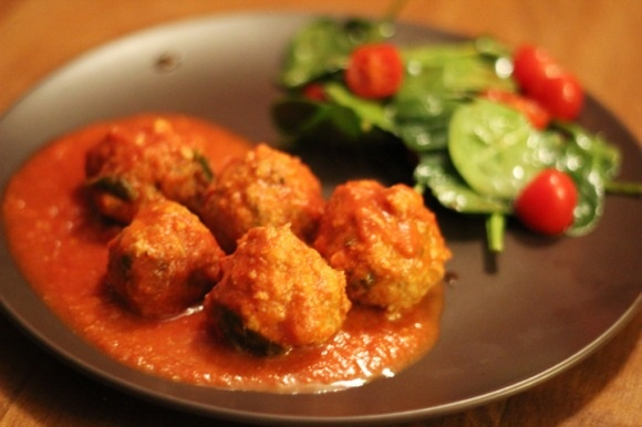 Skinny Italian Turkey Meatballs...these taste so good! - And I helped ...
