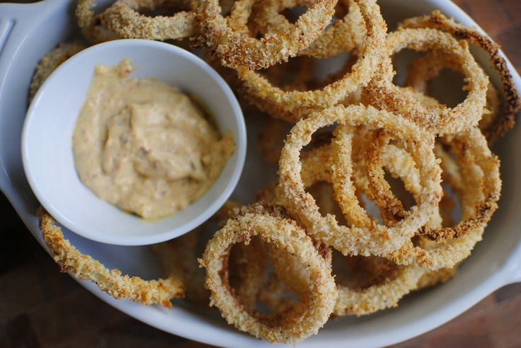 Simply Scratch » Crispy Baked Onion Rings - these were yummy & the ...