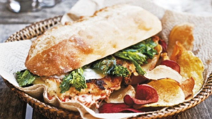 Philly-Style Chicken Cutlet Sandwich | My Fav Food.....