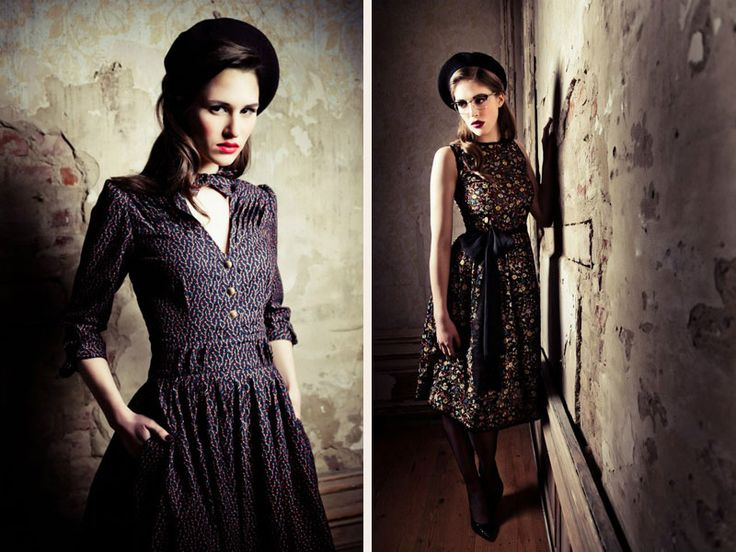Q's Daydream: Lena Hoschek F/W 2012/13 Lookbook
