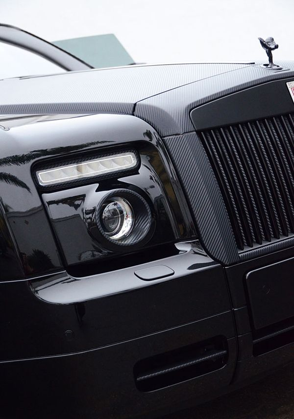 Carbon Fiber Rolls-Royce Phantom