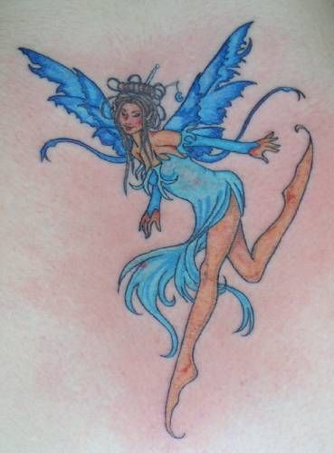 fairy tattoo design ink designs pinterest. Black Bedroom Furniture Sets. Home Design Ideas