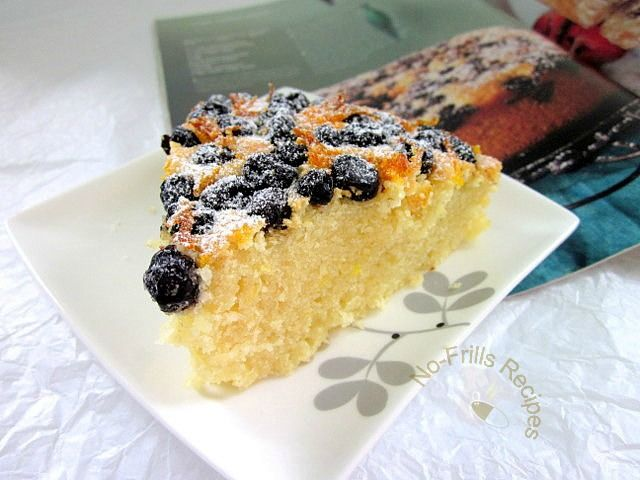 Orange Blueberry Tea Cake | Bread & Breakfast | Pinterest