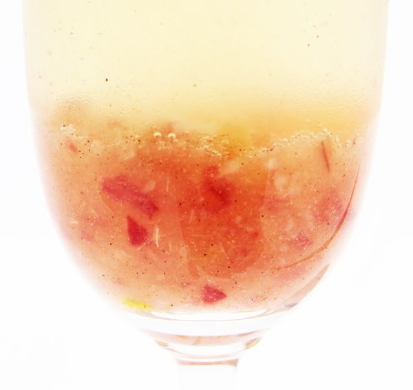 Fashionably Bombed: Society Sparkler: A White Peach & Cardamom Bellini