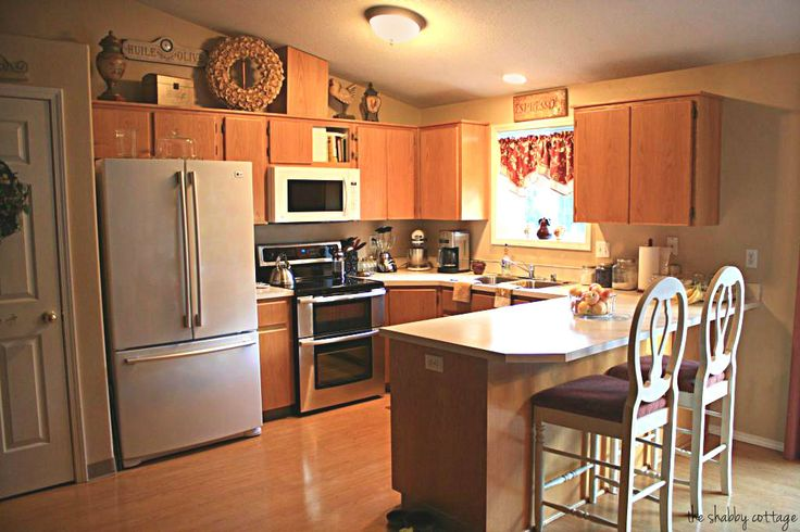 Kitchen Cabinets Makeover The Shabby Cottage Home Kitchen Cabinets Makeover