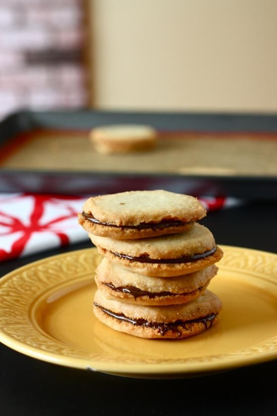 Homemade Mint Milano Cookies | Cookies and other yummy treats | Pinte ...