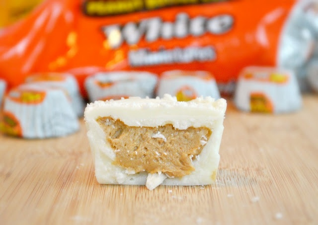 homemade white-chocolate reeses cups | yum | Pinterest