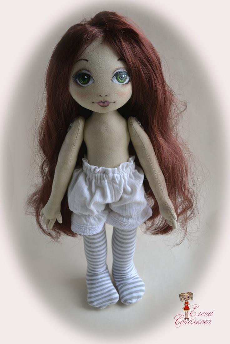 Как сделать шарнирную куклу своими руками из ткани