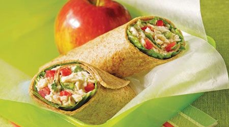 Tuna Salad Wraps | Food | Pinterest