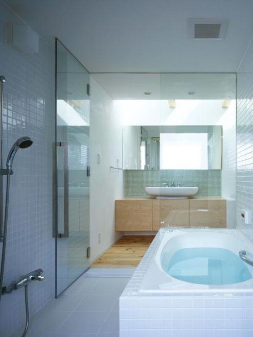 Modern japanese bathroom japanese bathroom examples for Bathroom examples photos
