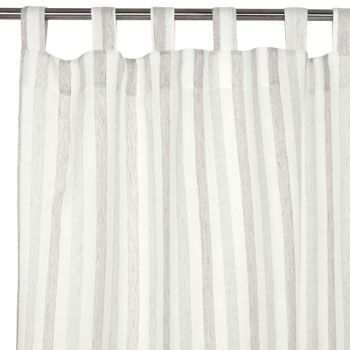 grey and white stripe curtain lounge pinterest