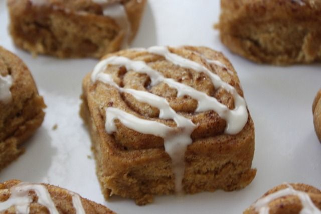 Whole Wheat Vegan Cinnamon Buns (with a touch of pumpkin) | Life is ...