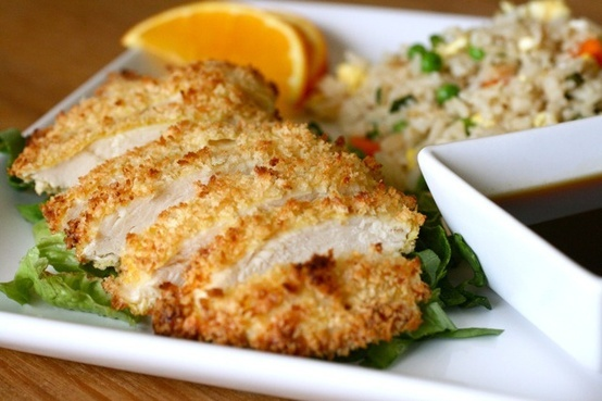 crispy baked chicken with teriyaki sauce | Poultry | Pinterest