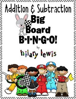 Addition & Subtraction B-I-N-G-O!!! free