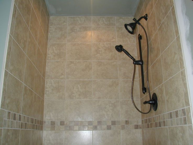 Tiled shower stalls shower stall house pinterest Tile shower stalls