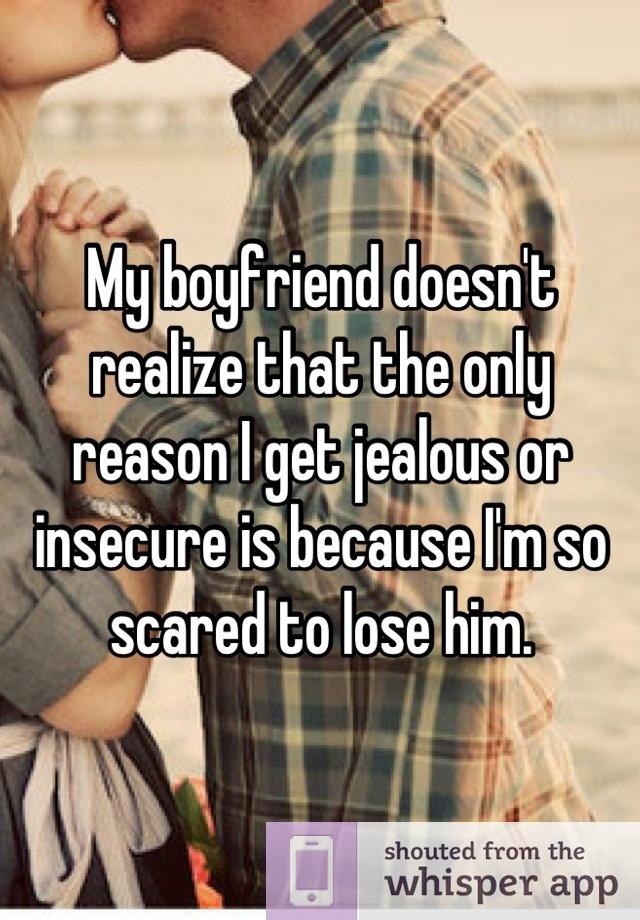 my boyfriend is insecure