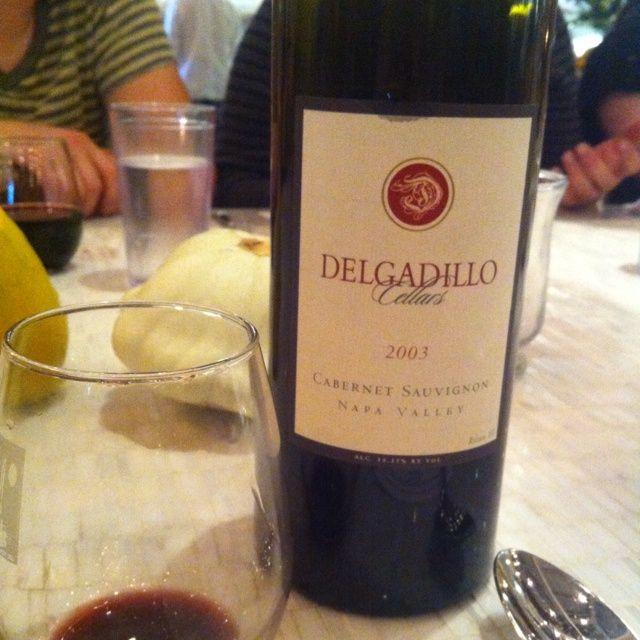 ... wine | Delgadillo Cellars 2003 Napa Valley Cabernet Sauvignon | Wine
