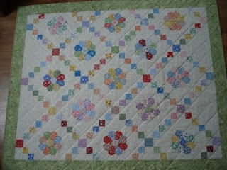 Irish chain amp dresdens plate 1930 s crazy for quilts pinterest